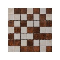 Keramički mozaik Glamur Beige/Brown 25x25