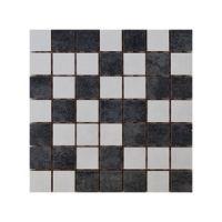 Keramički mozaik Glamur White/Grey 25x25