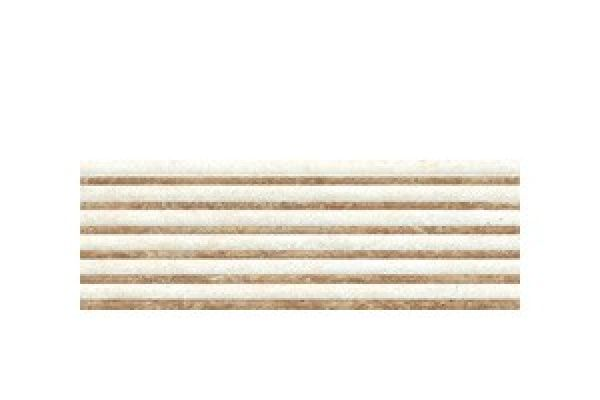 Travertino Lines Crema Brillo 20x60x0,95