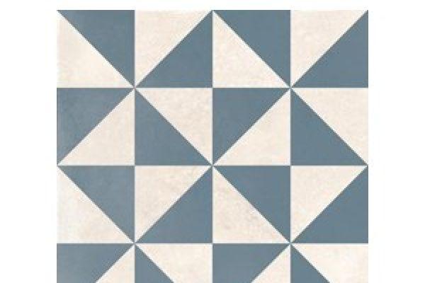 Dorian Azul Decor Vertice 25x25