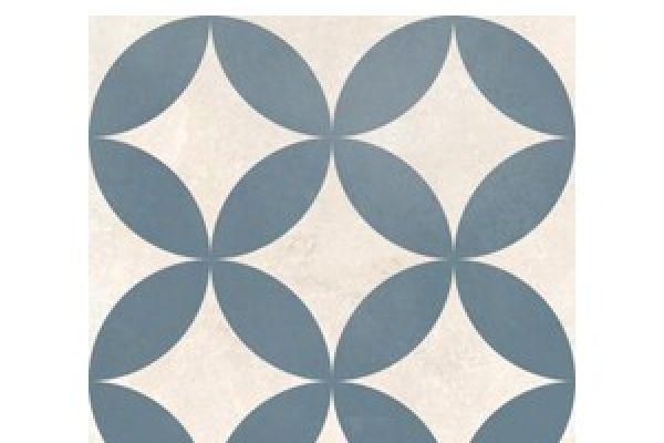 Dorian Azul Decor Circle 25x25