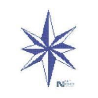 Stakleni mozaik Kompas 8 - 227x148 cm