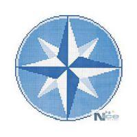 Stakleni mozaik Kompas 9 - 196x196 cm