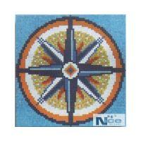 Stakleni mozaik Kompas 13 - 180x180 cm