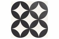 Dorian Antracita Decor Circle 25x25