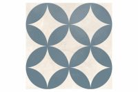 Dorian Azul Decor Circle 25x25