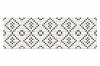 Black and White Mosaic 25x75x1,05
