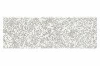 White Insert Flower 25x75x1,05