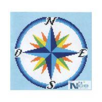 Stakleni mozaik Kompas 2 - 212x212 cm
