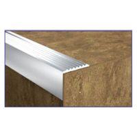 Aluminijumska stepenišna lajsna 3130 srebrna