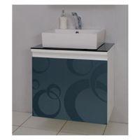 Toaletni ormarić Valnut Silver 60 - Pino Art