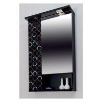 Toaletno ogledalo Valnut Black Art 60 - Pino Art