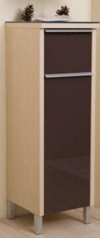 Toaletni ormarić NEO Vertikala Black-D-0264