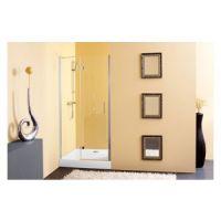 Tuš vrata 80/K-L + Tuš stena TERRA FLAT CLEAN COAT 513260 - Kolpa san