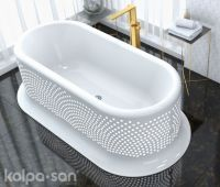 Lolly Bathtub FS 203x100 White 593680 - Kolpa san