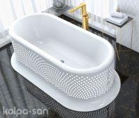 Lolly Bathtub-FS 203x100 White 593680 - Kolpa san