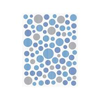 Inserto Ramona Blue Bubbles 25x33