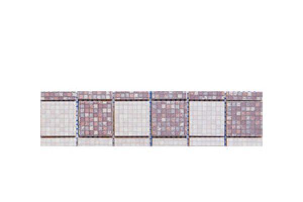 Listela Cubo Grapa Mosaic 1 6x25