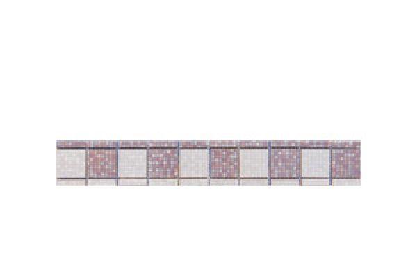 Listela Cubo Grapa Mosaic 2 6x40