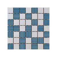 Keramički mozaik Ramona White/Blue 25x25