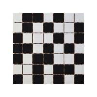 Keramički mozaik Ramona White/Nero 25x25