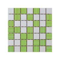 Keramički mozaik Ramona White/Pistacio 25x25