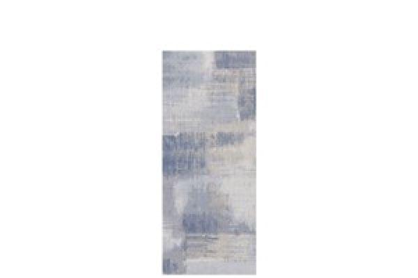 Aquarelle Blue Gray 25x60
