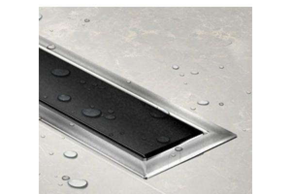 Tuš kanalica Confluo Premium Drain Line 300 Black glass 13100039