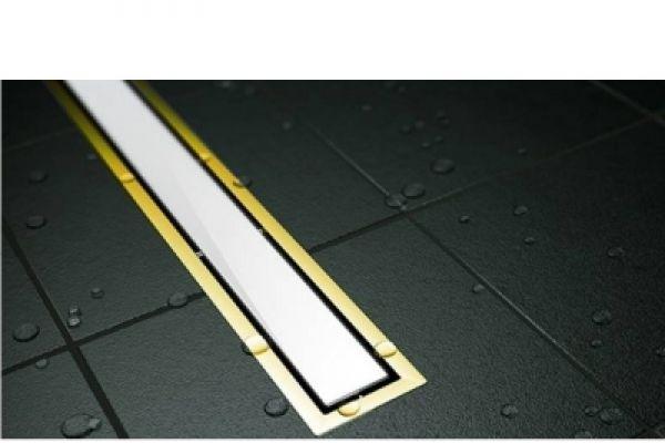 Tuš kanalica Confluo Premium Drain Line 300 White glass 13100088